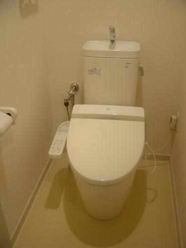 清潔感の有るトイレに変身!