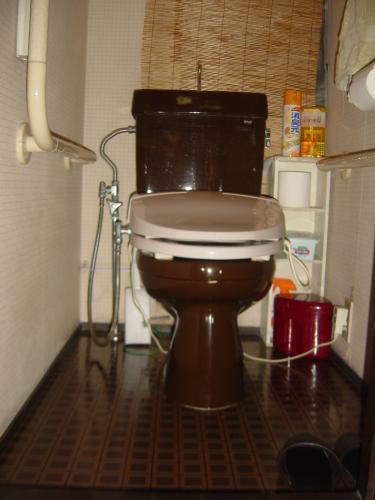 トイレがスッキリとした空間に変身