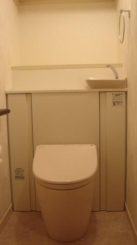 温か味のあるトイレになりました