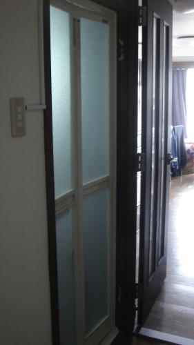 お風呂の扉を交換して利便性アップ!