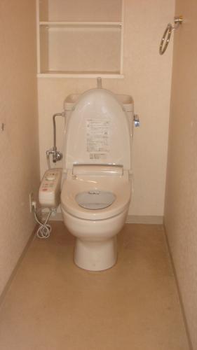最新・多機能トイレで満足度UP!